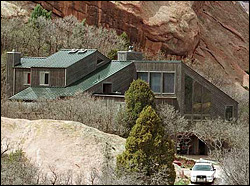 The Klebold family home in Littleton, Colorado