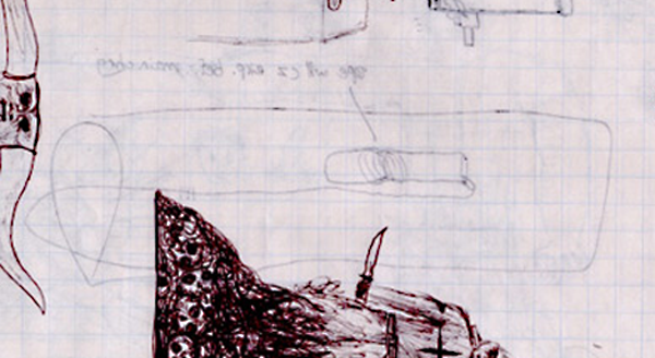 Bomb drawing done by Eric Harris
