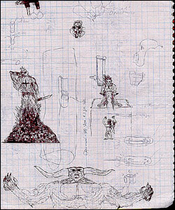Eric Harris's drawing enhanced