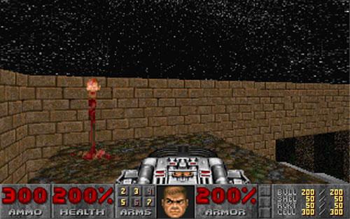 Bricks - a Doom 2 wad by Eric Harris aka REB