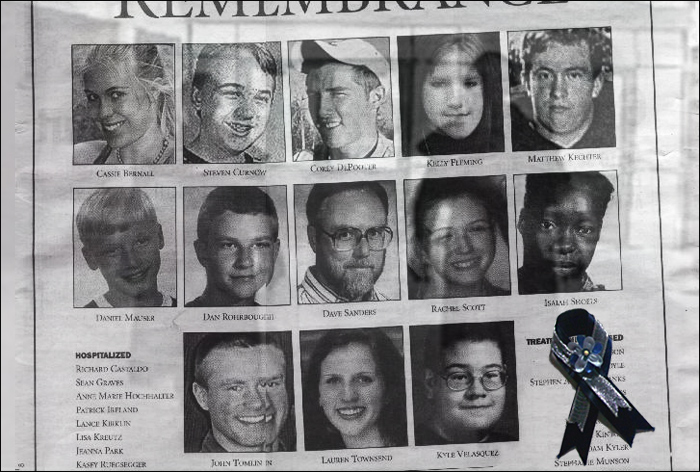 columbine high school massacre essay The movie is based on the shooting massacre that occurred at columbine high school, where two students eric harris and dylan klebold entered their alma mater and killed 15 people, also injuring an additional 21 students.