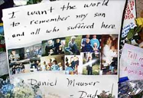 Tom Mauser's message about his slain son, Daniel Mauser